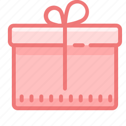 box, delivery, gift, package, present, prize, stock icon