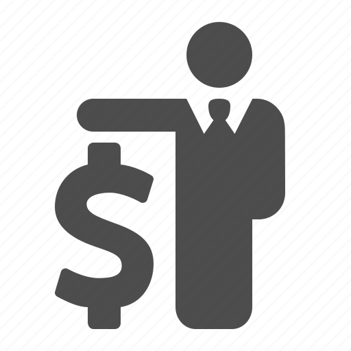 business, businessman, currency, dollar, finance, loan, money icon