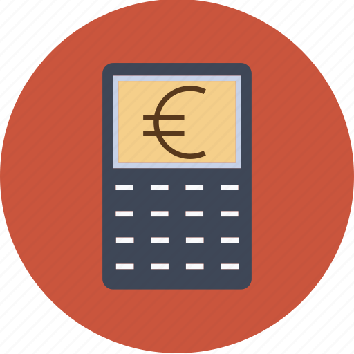 Banking Budget Business Calculator Currency Dollar Euro Finance Money Icon