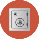 bank, deposit, ecommerce, lock, money, safe, strongbox, vault icon