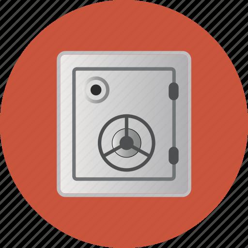 bank, deposit, ecommerce, lock, money, safe, strongbox, vault icon