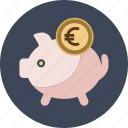 bank, box, coin, money, pig, piggy, safe, saving, savings icon