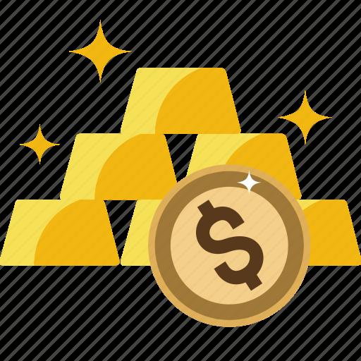 bank, bars, biscuits, bricks, gold, goldbars, money, precious, stack, watchkit icon