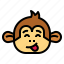monkey, animal, mammal, wildlife, playful