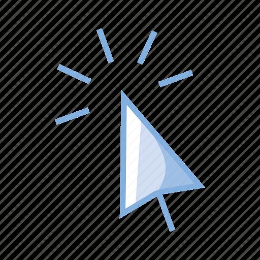 click, cursor, hover, internet, link, website icon