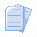 doc, document, double file, file, files, folder icon