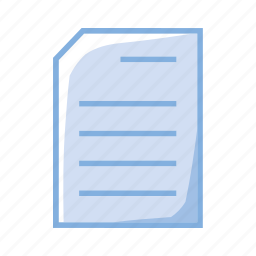doc, document, file, folder icon
