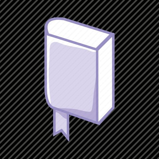 book, certification, diploma, learn, purple, read, school icon