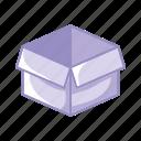 box, classify, clean, idea, purple