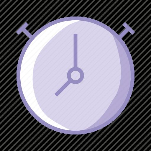 chrono, clock, purple, schedule, stopwatch, time icon