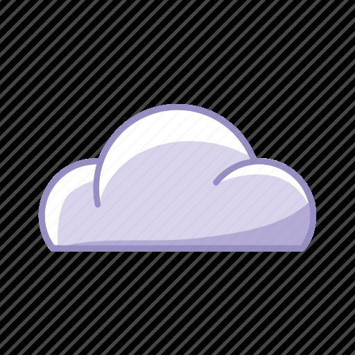 cloud, download, purple, sky, upload icon