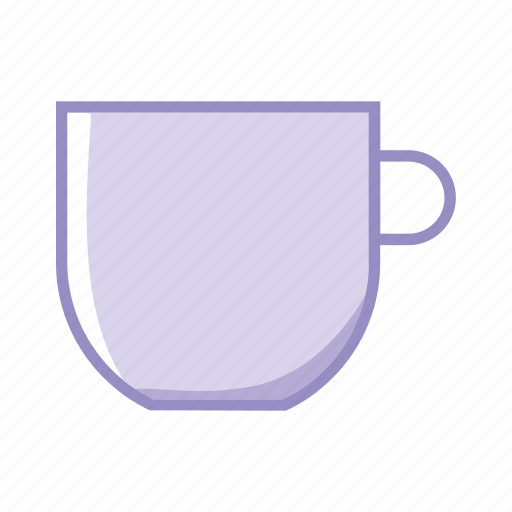 break, cafe, coffee, cup, purple, tea icon