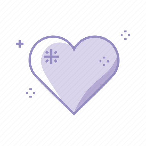 heal, health, heart, love, medical, purple icon