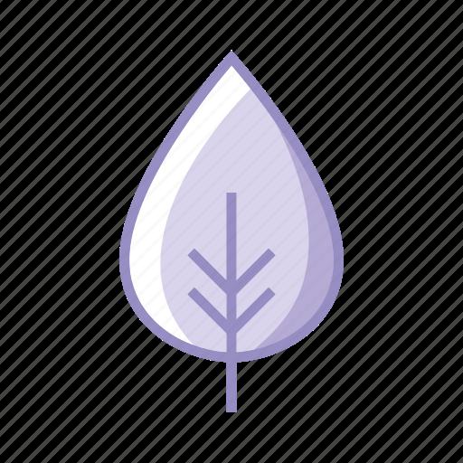 eco, ecology, leaf, leaves, nature, purple, tree icon