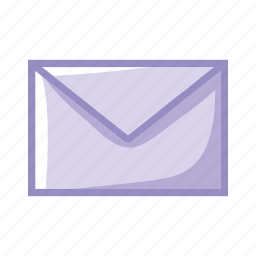 communication, contact, email, letter, lmail, purple icon
