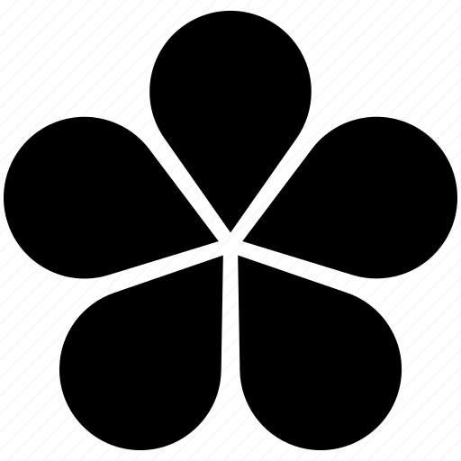 clover, diagram, flower icon