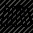 folded, map, paper, roadmap, sheet icon
