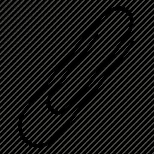 append, attach, attachment, clip icon