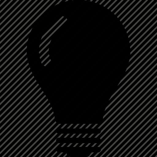 bulb, ideia, lamp, light icon