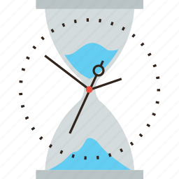 clock, hour, sand, sandclock, time icon