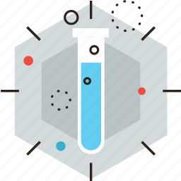 analysis, beaker, chemistry, innovation, lab, medical, research, test icon