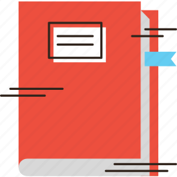 book, dictionary, education, handbook, manual, textbook, tome icon