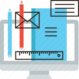 application, computer, draw, education, program, sketch, software, tools icon