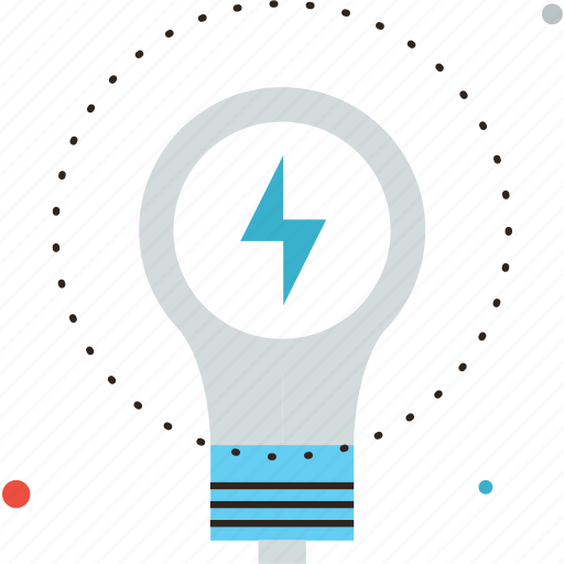 bulb, consumption, efficiency, electric, electricity, energy, glow, lamp, saving icon