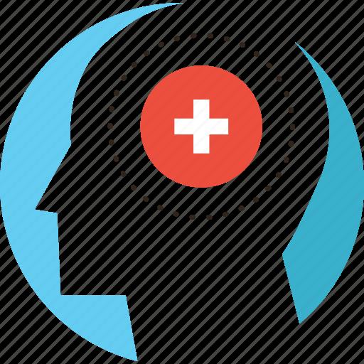 Alzheimer, brain, dementia, health, mental, psychiatric, psychology icon - Download on Iconfinder