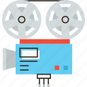 broadcast, camera, cinematograph, film, movie, studio, tv, video icon