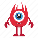 character, creature, monster, monster cartoon icon