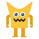 character, creature, mascot, monster cartoon icon
