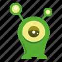monster cartoon, character, creature, mascot