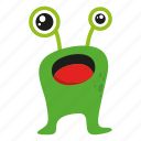 character, monster, monster cartoon icon