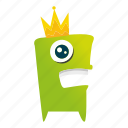 character, creature, mascot, monster cartoon icon