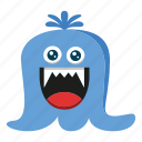 cartoon, cute, halloween, monster icon