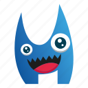 cartoon, cute monster, monster, spooky icon