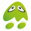 ghost, monster cartoon icon