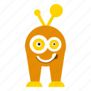 character, cute, monster cartoon icon
