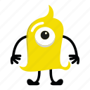 character, halloween, monster cartoon icon