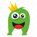 character, cute monster, monster cartoon icon