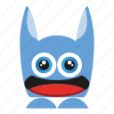 cartoon, character, cute monster, mosnter, spooky icon