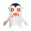 character, dracula, gothic, halloween, mascot, monster, spooky icon