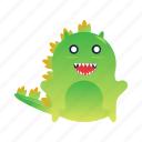 animal, character, godzilla, lizard, mascot, monster, reptile icon