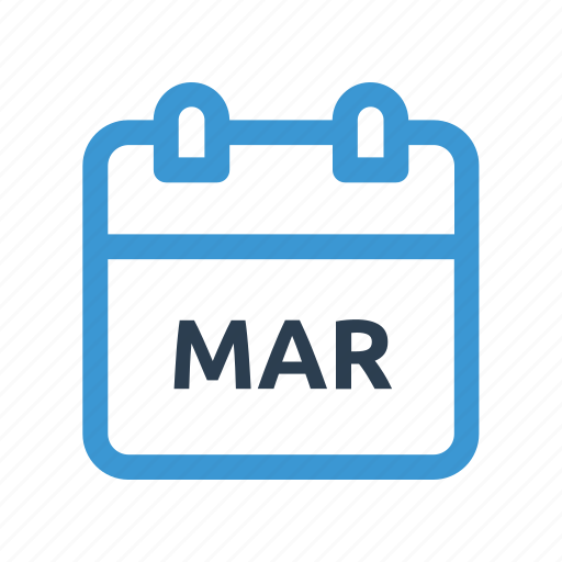 calendar, date, event, mar, march, meeting, month icon