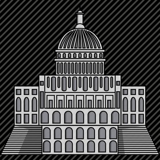 america, capitol, monument, united states, us capitol, usa, washington dc icon