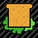 sandwich, food, bread, meal, breakfast
