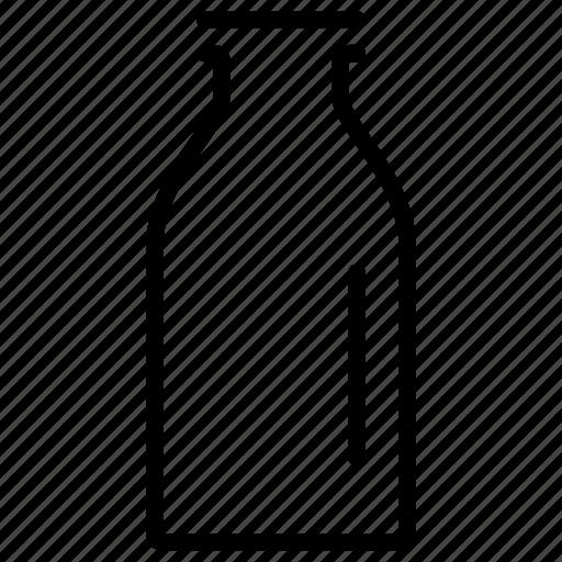 bottle, breakfast, drink, milk, milk bottle, morning, routine icon