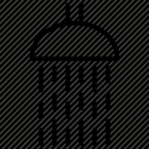 bathroom, breakfast, morning, routine, shower, shower head, water icon