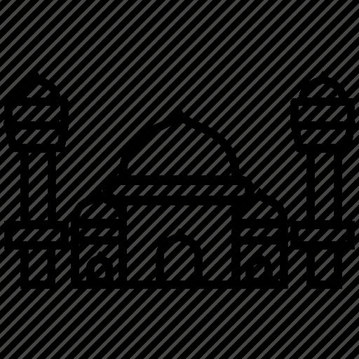 building, eid, islam, moslem, mosque, ramadan, religion icon